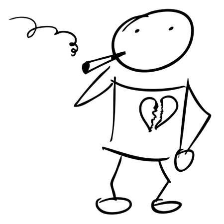 smoking kills: Smoking kills doodle