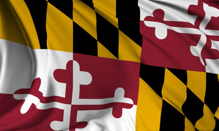 maryland flag: Maryland flag - USA state flags collection