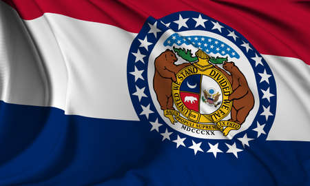 Missouri flag - USA state flags collection