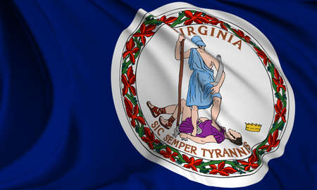 Virginia flag - USA state flags collection