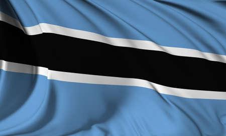 botswana: Flag of Botswana