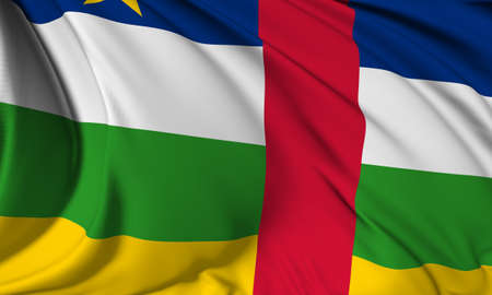 central african republic: Flag of Central African Republic