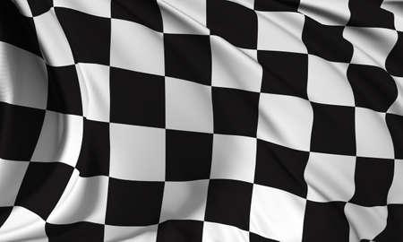 Race flag render