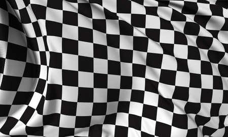 cuadros blanco y negro: Bandera a cuadros - Bandera Finalizar