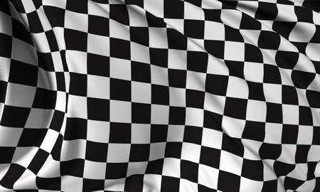 Checkered flag - Finish flag
