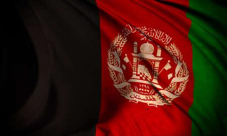 afghanistan': Grunge flag of Afghanistan Stock Photo