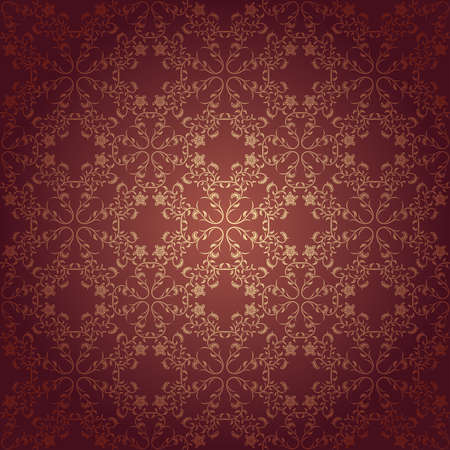 Background baroque vector with flowers
