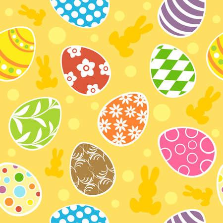 Easter seamless background  illustration Stock Vector - 18518537
