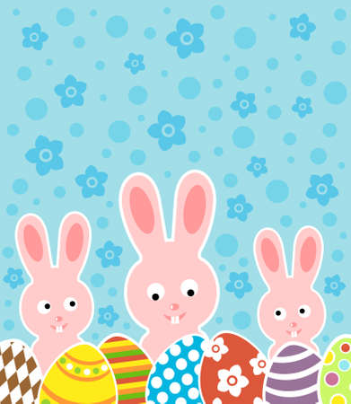 Easter background card illustration Stock Vector - 18518590