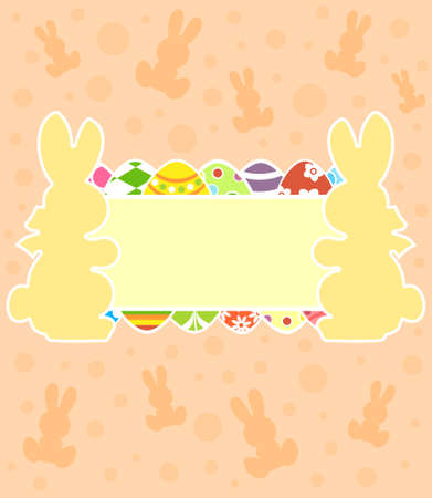 Easter background card illustration Stock Vector - 18518599