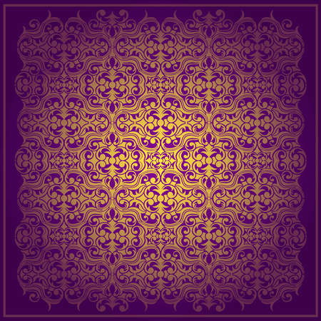 Abstract purple background baroque
