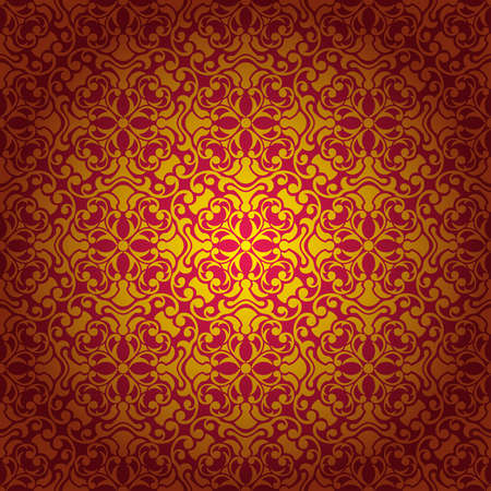 Abstract seamless baroque background