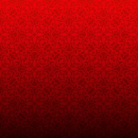 Red abstract geometric pattern textured background. Vector illustration 向量圖像