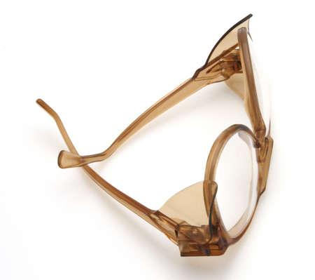 Safety glasses protective eye protection from objects Reklamní fotografie