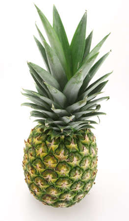 Fresh pineapple ready to be sliced for desert or salad Stock Photo - 2730897