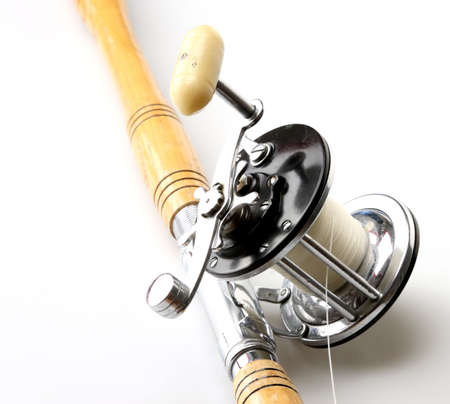 Saltwater rod and reel for fishing big water photo