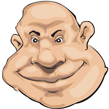 smiling man Vector