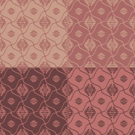 vintage seamless texture in cream colors Vector