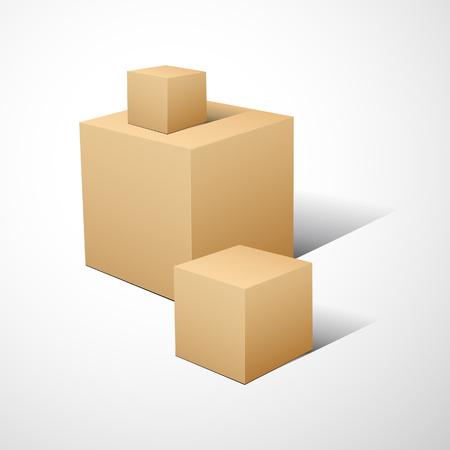 specular: Composici�n de cubo 3D.  ilustraci�n.