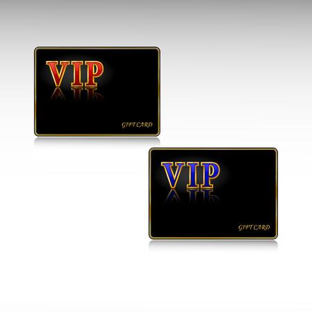 millonario: Tarjetas de regalo de VIP.  ilustraci�n.