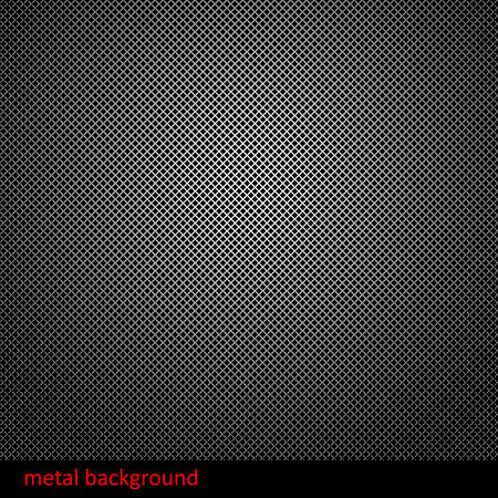 dark fiber: Abstract metal background. illustration. Illustration