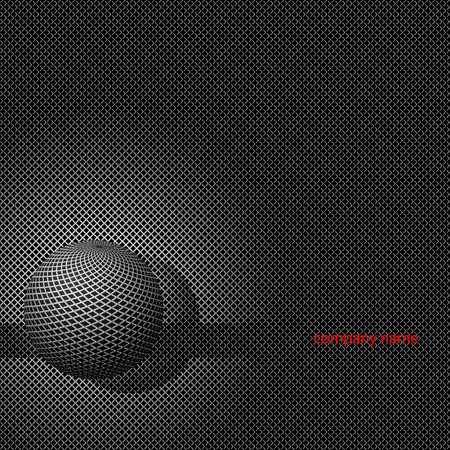 Abstract metal background.  illustration. Vector
