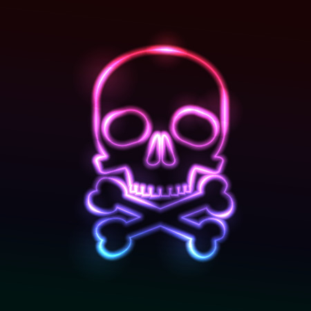 devil's bones: Skull. Eps10