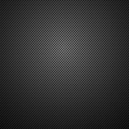 black textured background: Abstract metal background. illustration. Illustration
