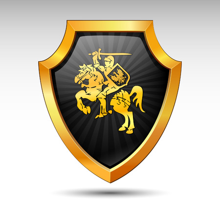 secure: Shield on a white background.