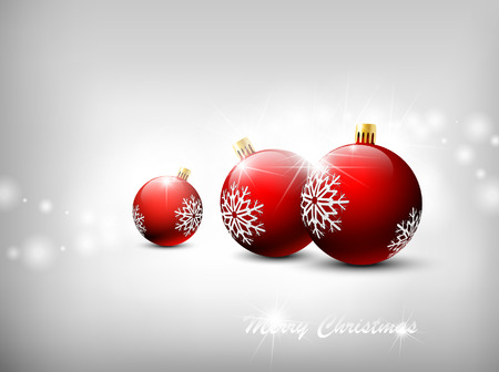Christmas background. Stock Vector - 8369808