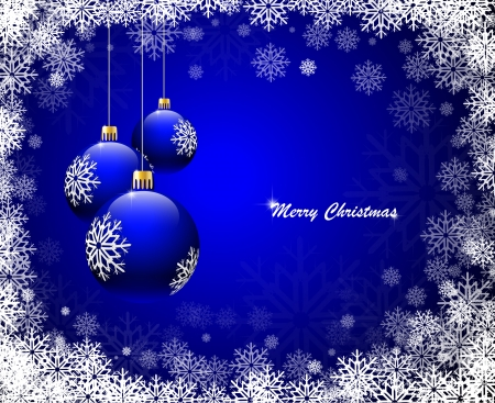 Christmas background. Vector illustration Stock Vector - 8369807
