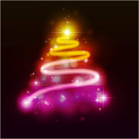 emitter: Christmas fur-tree.