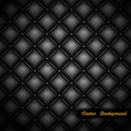 background. Leather upholstery.   illustration.