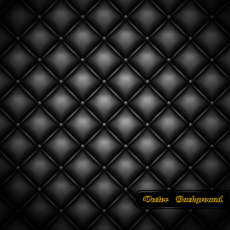 diamonds pattern:  background. Leather upholstery.   illustration.