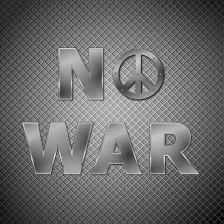 no war: No war concept.