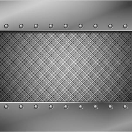 dark fiber: Abstracte metalen achtergrond