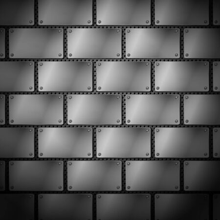 dark fiber: Abstract metal background