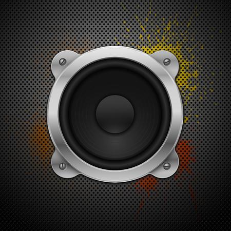 speaker box: Loadspeaker. Element for your urban design.