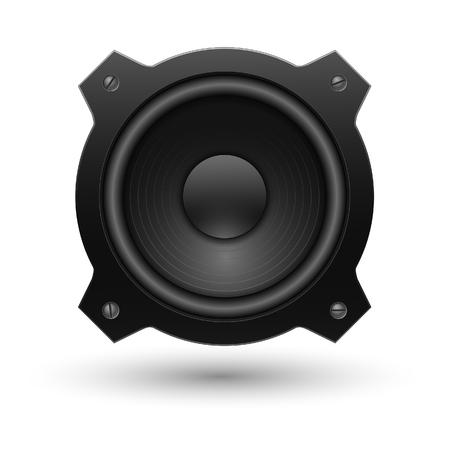circundante: Speaker icon. Vector illustration.