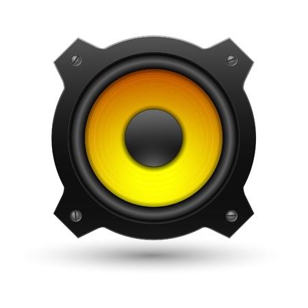 Speaker icon. Vector illustration. Stock Vector - 8920129