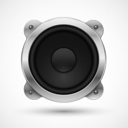 Speaker icon. Element for your urban design. Stock Vector - 9162137