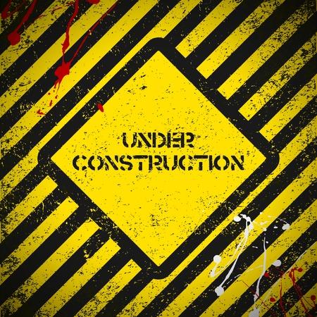 Construction background. Vector illustration. Eps10 Stock Vector - 9258045