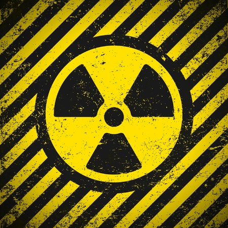 Sign radiation. Vector illustration. Eps10 Vector