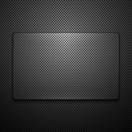 carbon fiber: Fondo abstracto de metal. Ilustración vectorial.