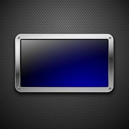 dark fiber: Abstracte metalen achtergrond. Vector illustratie. Stock Illustratie