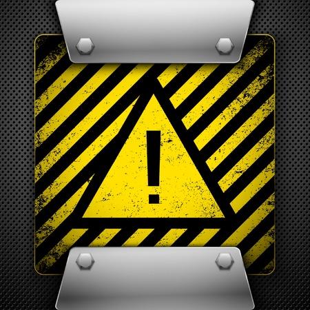 Warning Symbol.  Stock Vector - 9636554