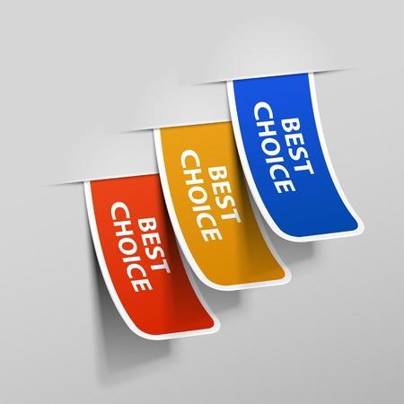 sticker vector: Sticker. Vector illustration. Eps 10. Illustration