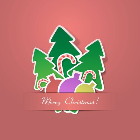Christmas background. Vector illustration Vector