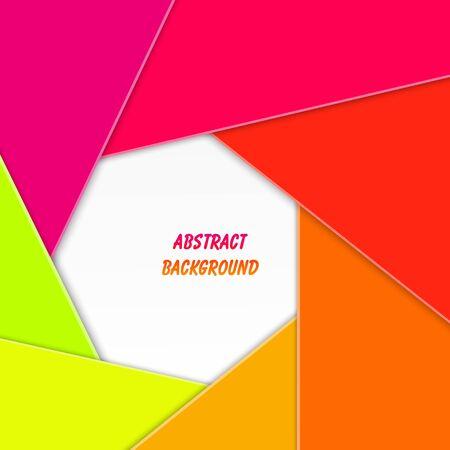 brillante: Astratto sfondo colorato