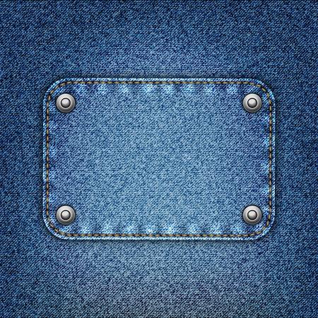 bluejeans: Realistic vector denim background.